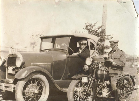 Canada's First Police Motorcycle — Guelph Heritage