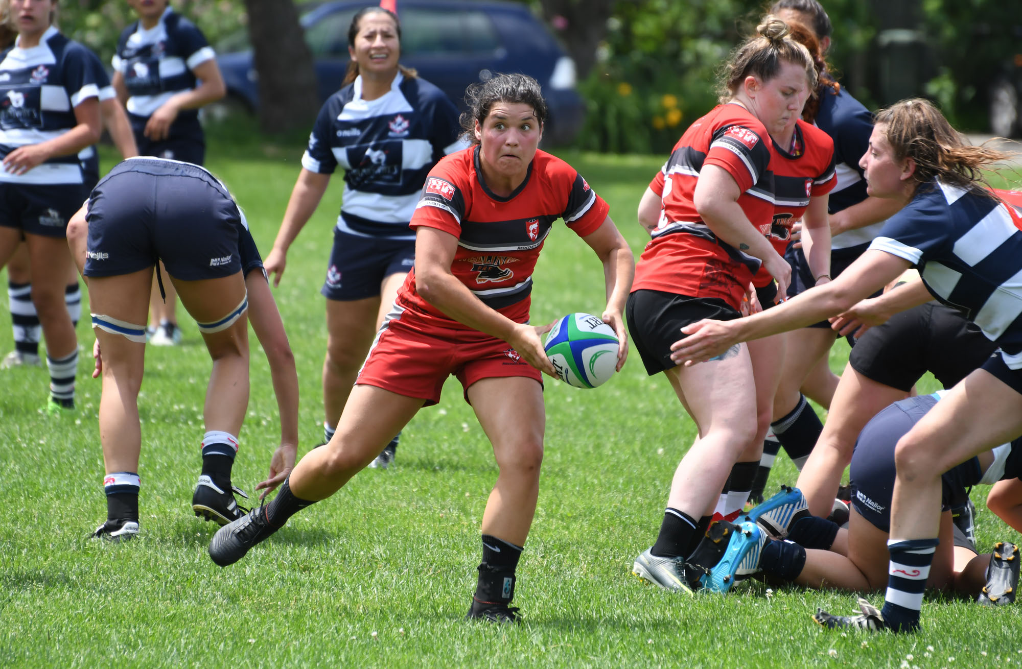 Photos: Guelph Redcoats-Toronto Nomads OWL rugby