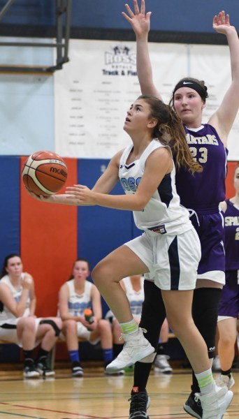 Photos: Centennial-Ross senior girls' basketball