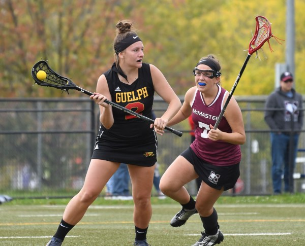 Photos: Guelph Gryphons-McMaster OUA women's lacrosse