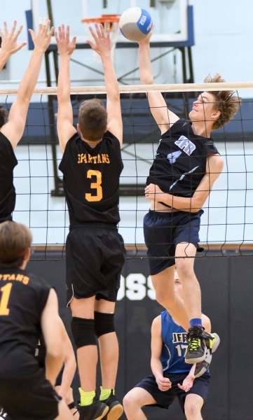 Photos: Ross-Centennial senior boys' volleyball