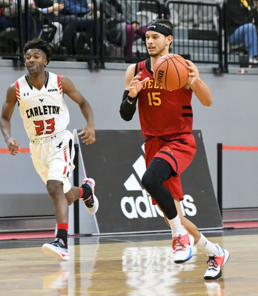 Photos: Guelph Gryphons-Carleton men's basketball