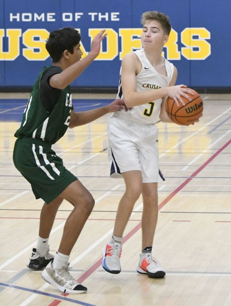 Photos: Lourdes-Guelph CVI senior boys' basketball