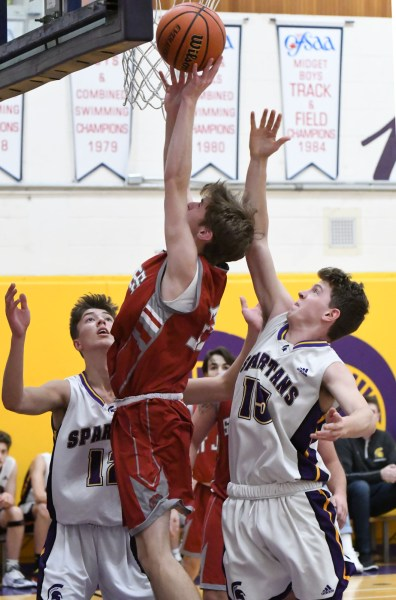 Photos: Centennial-St. James senior boys' basketball