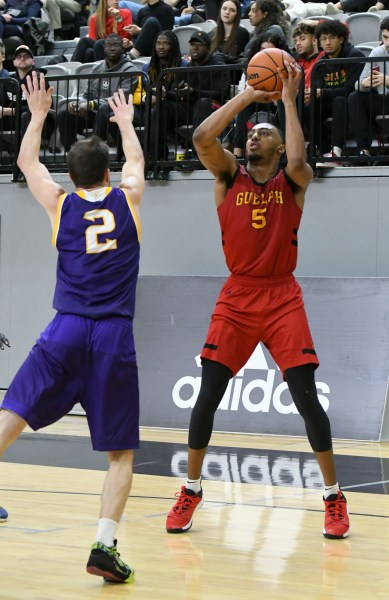 Photos: Guelph Gryphons-Laurier men's basketball