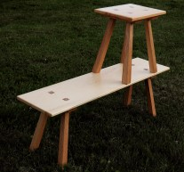Bench and Stool