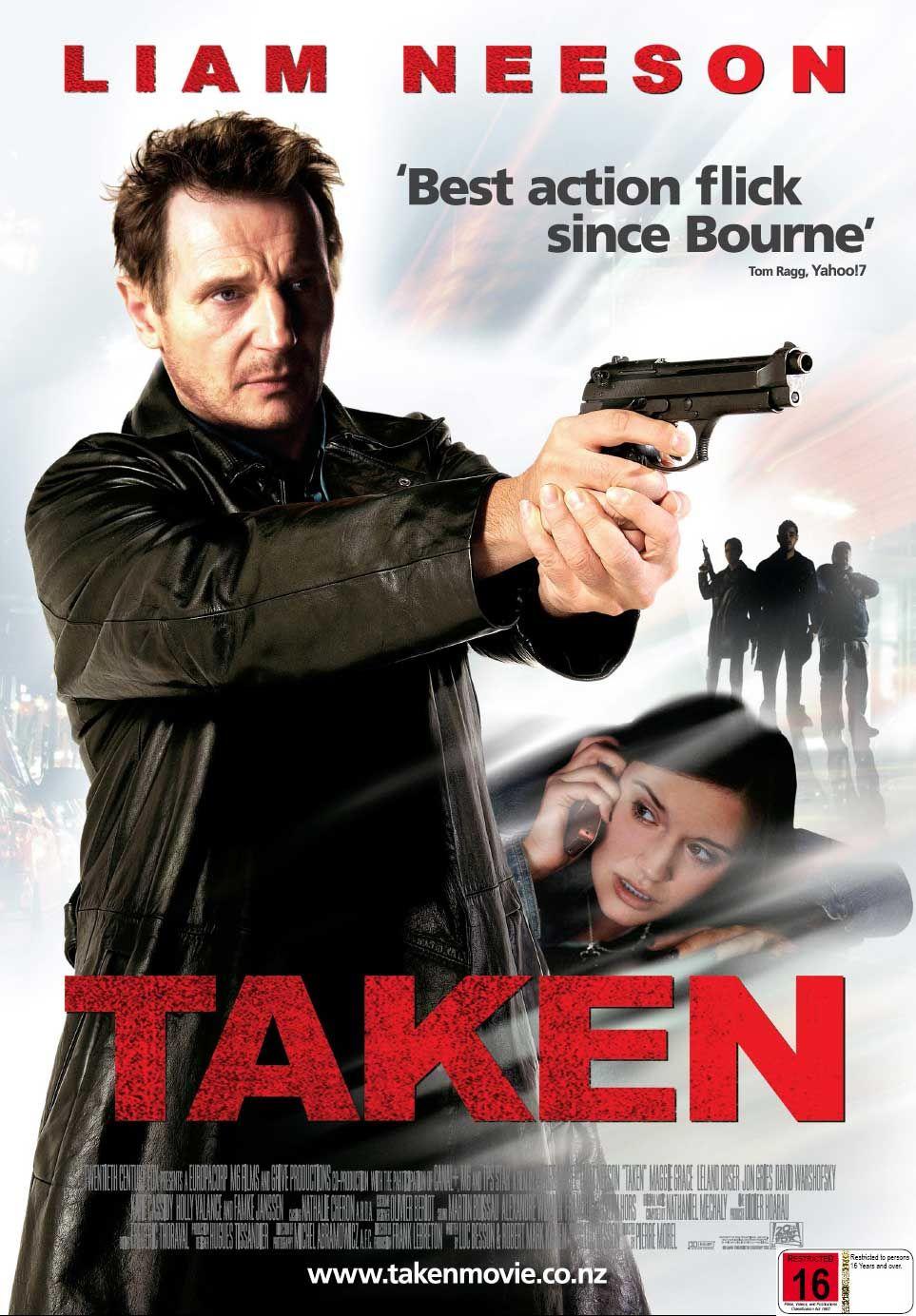 The 'Taken' movie poster