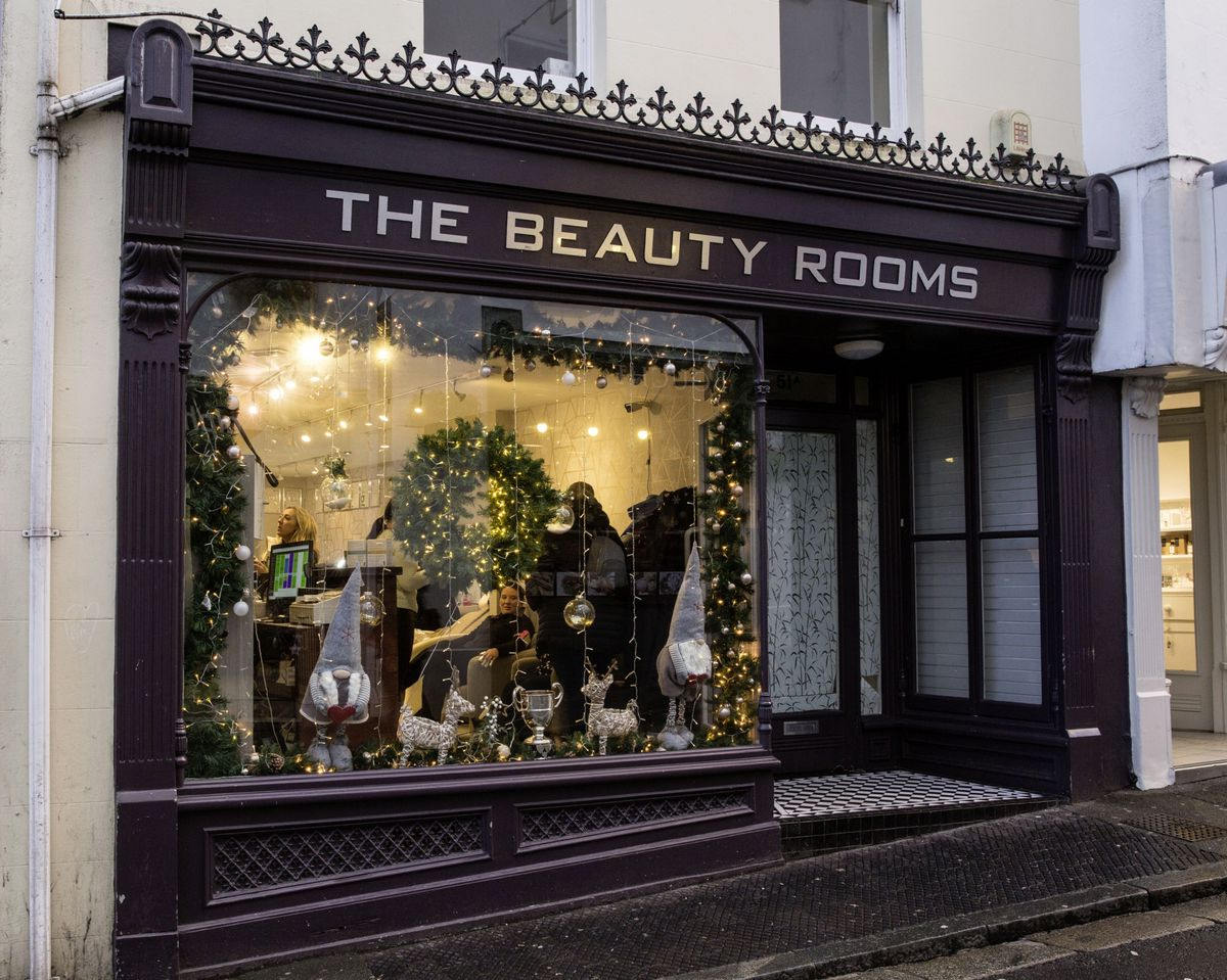 Pollet Shop Voted Best Christmas Window Display Guernsey Press