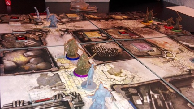 Les superbes figurines de Zombicide Black Plague
