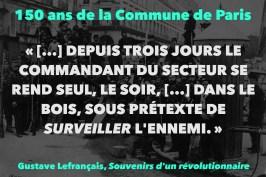"""""""[…] DEPUIS TROIS JOURS LE COMMANDANT DU SECTEUR SE REND SEUL, LE SOIR, […] DANS LE BOIS, SOUS PRÉTEXTE DE SURVEILLER L'ENNEMI."""""""