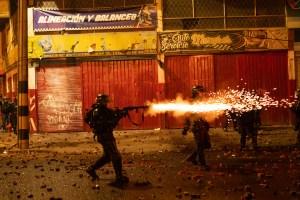 Bogota - Colombie, tirs des forces de sécurité, mai 2020