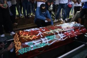 Cali - funérailles de Nicolás Guerrero (22 ans)