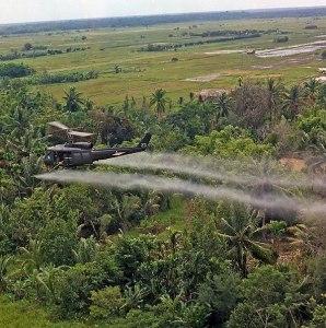Vietnam. Mission de défoliation.