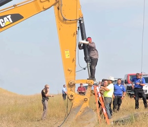 31 août 2016 - Dakota du Nord - Les protecteurs de l'eau #NoDAPL
