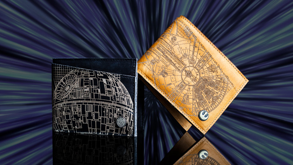 Imperial and Rebel Leather Wallets, $50