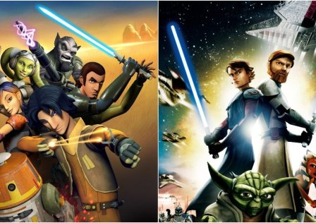 Le serie animate Star Wars The Clone Wars e Rebels a confronto.