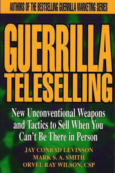 Guerrilla Teleselling cover