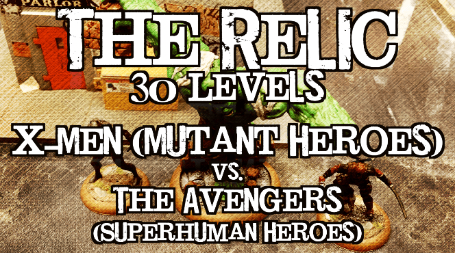 Battle Report – Marvel Universe Miniature Game – Age of Marvels Ep 01