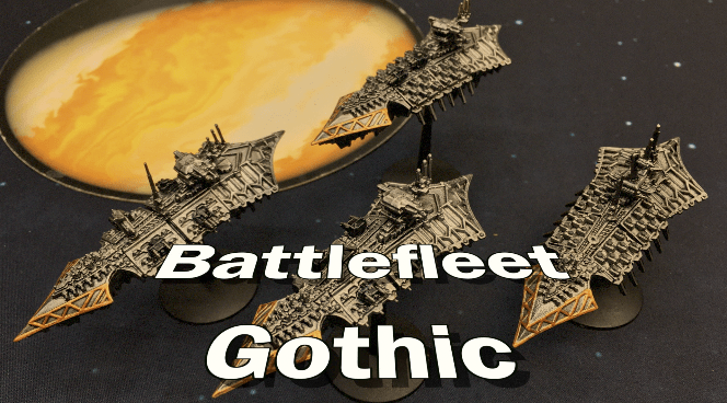Battle Report – Battlefleet Gothic – Throwback Thursdays Ep 71
