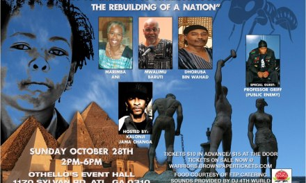 """""""From Royalty to Captivity to WArriorhood: The Rebuilding of a Nation"""""""