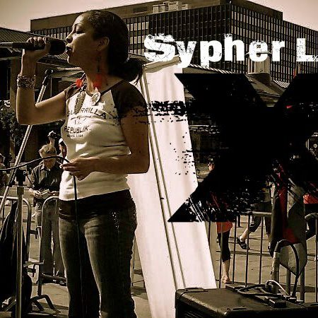 Sypher Lady X AT THE ART OF LYRICS IN THE BRONX