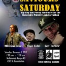 SaviOURS SATURDAY : HIP HOP & POETRY FUNDRAISER FOR THE HONORABLE MINISTER LOUIS FARRAKHAN