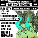 """""""ALTERED STATE of NOISE"""" indie Hip Hop showcase (EAR PEACE RECORDS) MAY 16TH"""