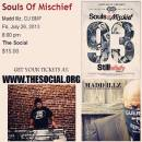 SOULS OF MISCHIEF, STILL INFINITY TOUR JULY 26 WITH MADD ILLZ AND DJ BMF