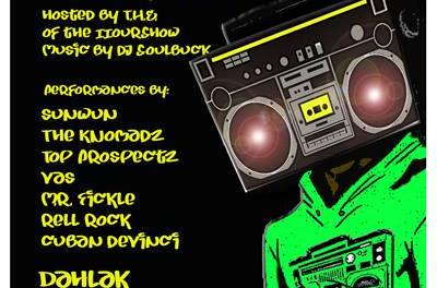 AIRPLAY LIVE HIP HOP PERFORMANCES 8/9/13 PHILLY WHERE THE UNDERGROUND IZ KING
