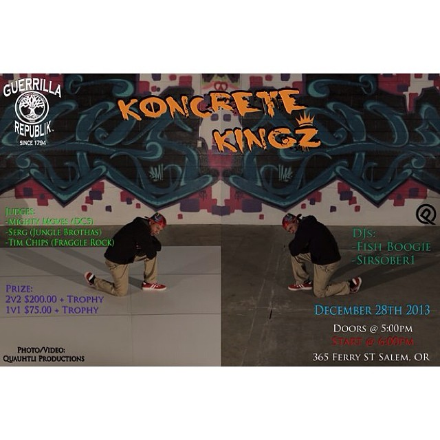 the knocrete king or queen