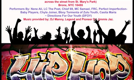 """Rise & Shine"" A Celebration of Youth Sept 20th at Betanccs Community Center , Bronx NY"