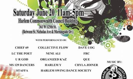 "Harlem Commonwealth council & The Universal Zulu Nation – Chosen 33 present ""SUMMER KICKOFF JAM"""
