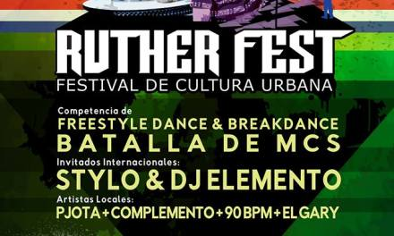 RUTHER FEST VOL 2 : FESTIVAL DE CULTURA URBANA 12/10/16 WITH DJ ELEMENTO AND STYLO OF GUERRILLA REPUBLIK SPAIN