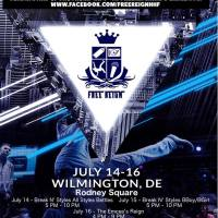 FREE REGIN : JULY 14,15,16 B/BOY/B-GIRL, GRAFFITI, FEMALE BATTLE MC ON RODENY SQUARE