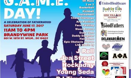 G.A.M.E. DAY A CELEBRATION OF FATHERHOOD ON KINGZ DAY JUNE 17TH @ BRANDYWINE PARK