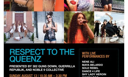 REZPECT TO THE QUEENZ AUG 13TH AT THE DELAWARE ART MUSEUM