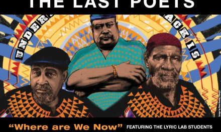 10/13/18 THE LAST POETS AT THE DELAWARE ART MUSEUM : WERE ARE WE NOW