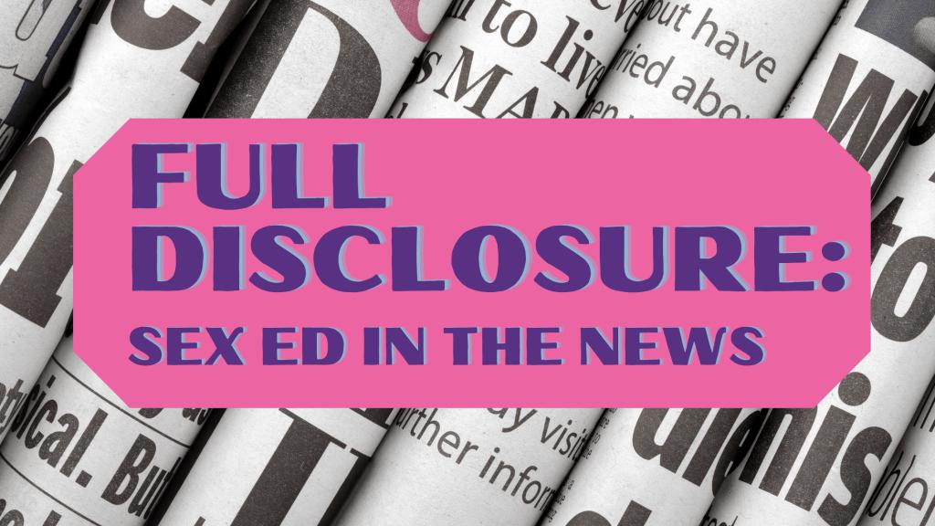 Full Disclosure series graphic