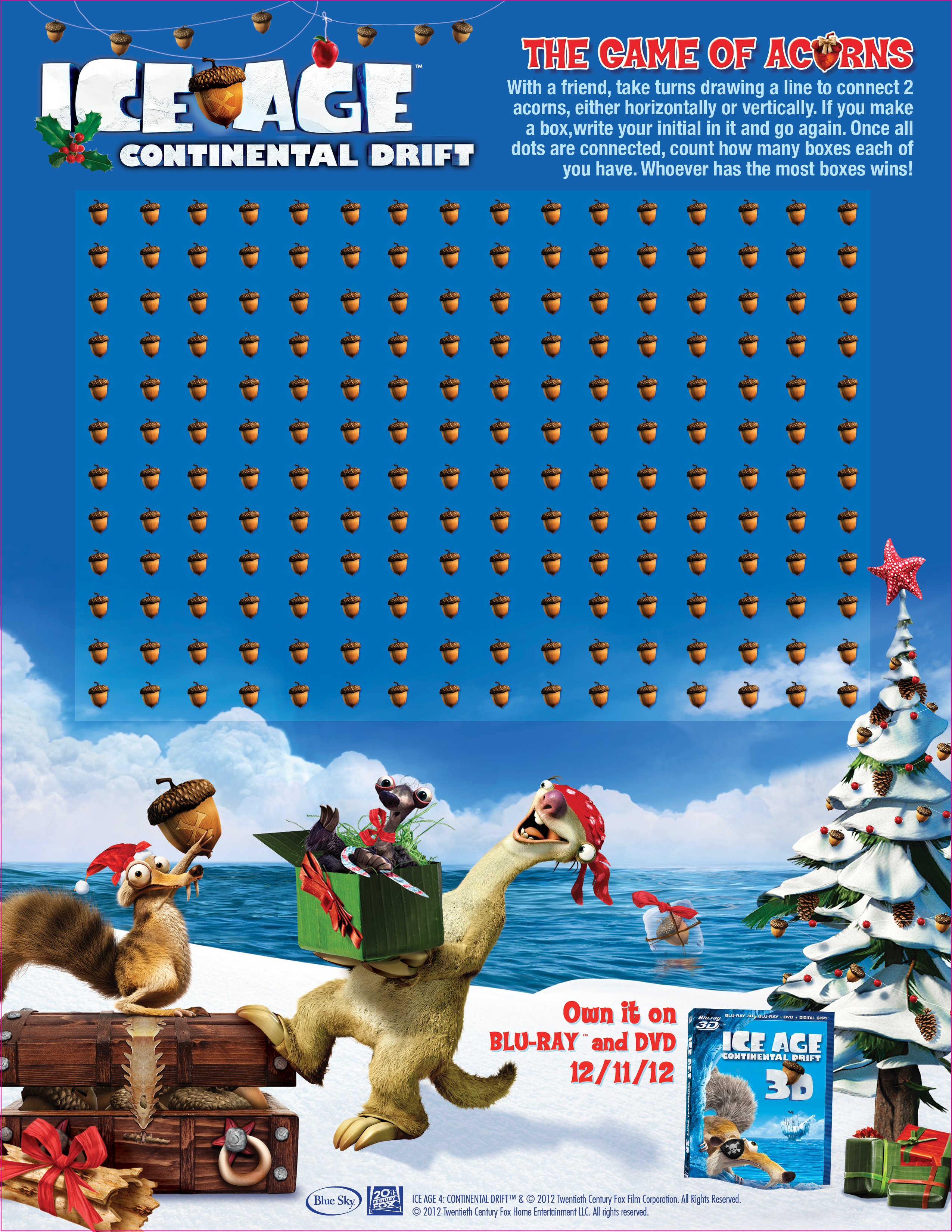 Ice Age Continental Drift Holiday Party