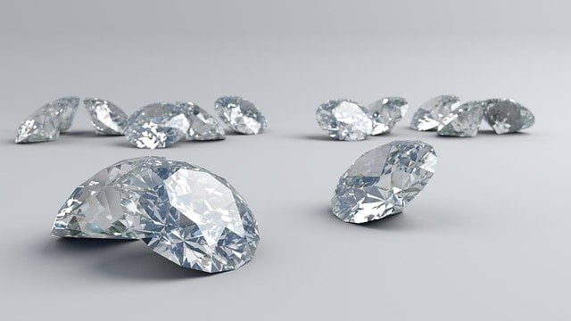 Use of Synthetic Diamonds