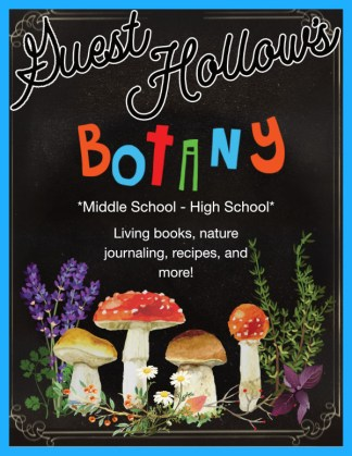 Guest Hollow's Botany Curriculum