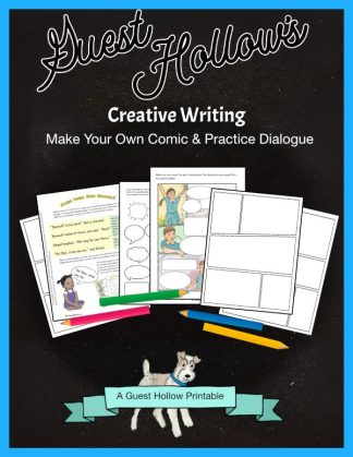 Creative Writing- Make Your Own Comic