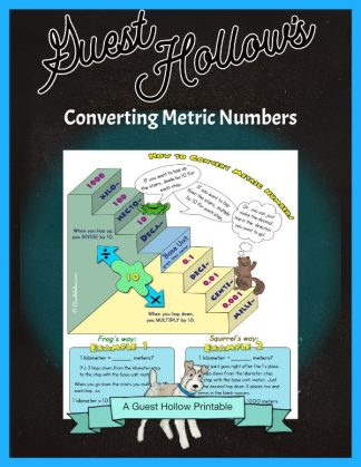 How to convert metric numbers