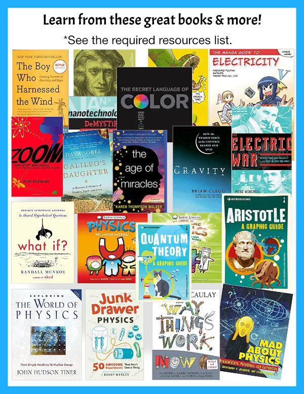 High School Conceptual Math-Free Physics books