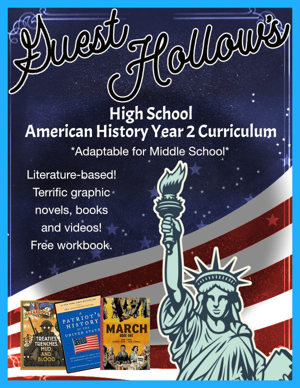 Guest Hollow's High School American History Curriculum Year 2