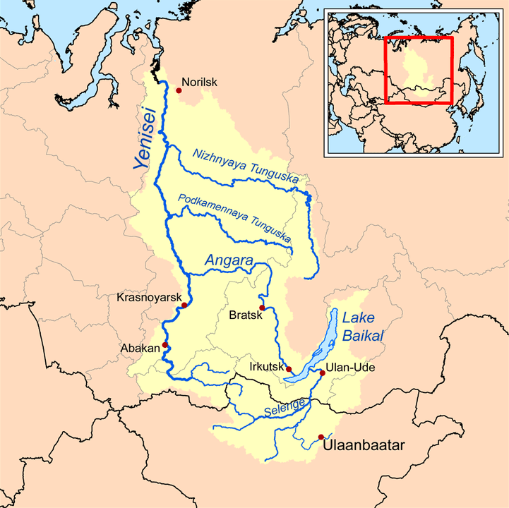Lake Baikal location