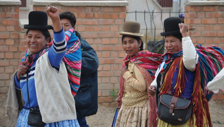 MAS is the Movement for Socialism, which has been active in Bolivian politics.