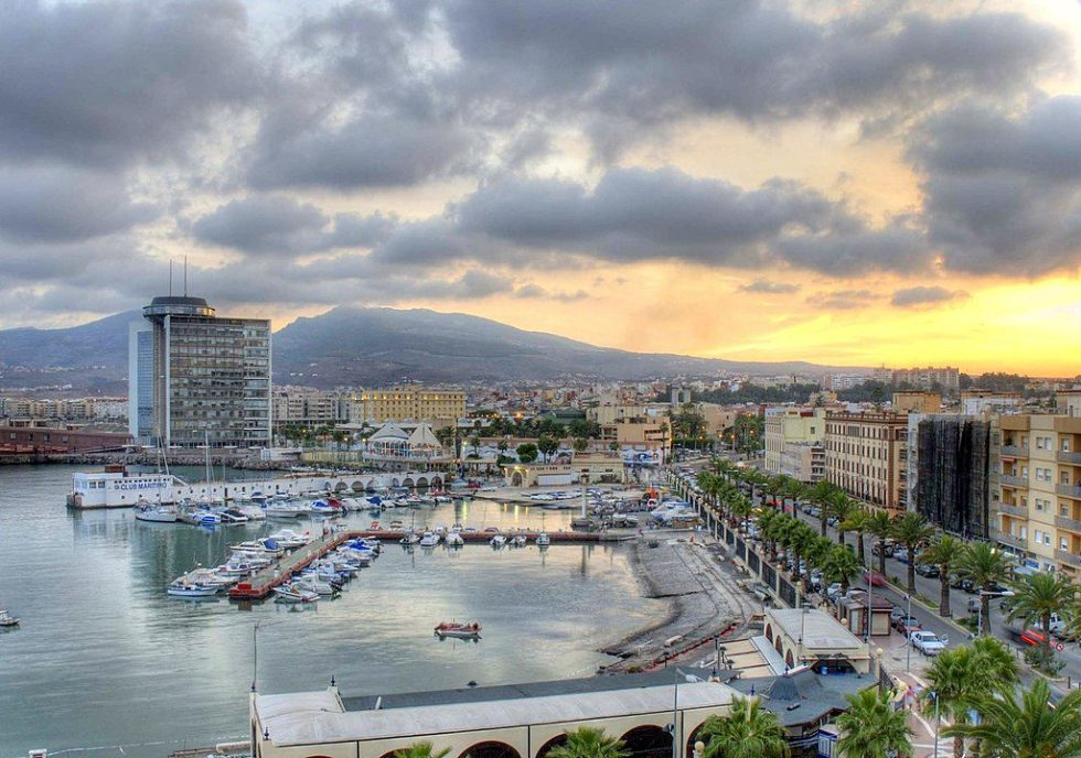 Melilla belongs to Spain, even though it's in Africa.