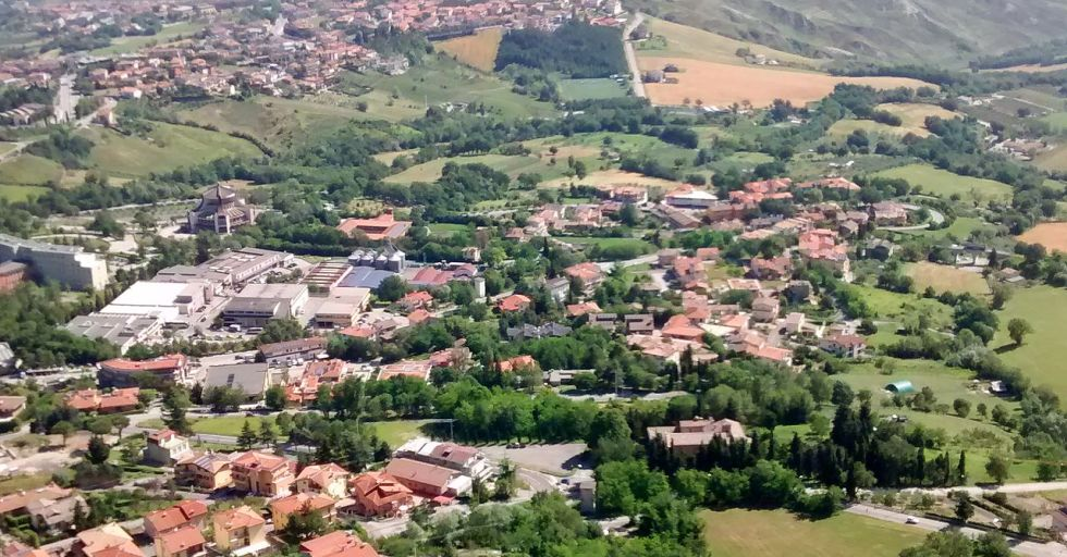 San Marino is an enclave microstate completely surrounded by Italy.