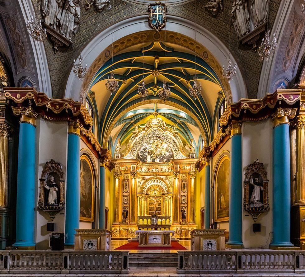 Church of St Domingo, Lima, Peru